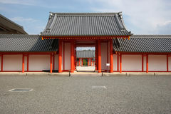 Classic japanese gate Royalty Free Stock Photo