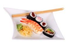 Classic Japanese Sushi Stock Images