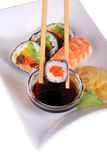 Classic Japanese Sushi Stock Photo