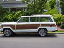 Classic Jeep Grand Wagoneer Stock Photography