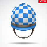 Classic Jockey helmet Stock Photography