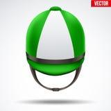 Classic Jockey helmet Stock Image