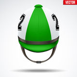Classic Jockey helmet Stock Photography
