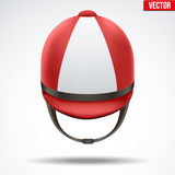 Classic Jockey helmet Stock Images