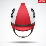Classic Jockey helmet Royalty Free Stock Image