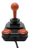 Classic Joystick w/ Path (Front View) Stock Photos