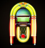 Classic juke box Royalty Free Stock Photo