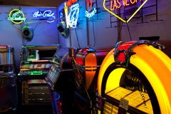Classic Jukeboxes Stock Images