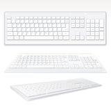 Classic Keyboard Stock Photography