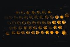 Classic, Keys, Letters Stock Image