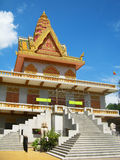 Classic khmer architecture, Phnom Penh Royalty Free Stock Photo