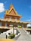 Classic khmer architecture, Phnom Penh Royalty Free Stock Photo