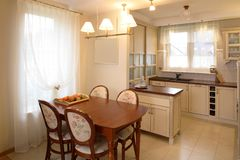 classic kitchen Στοκ Εικόνα
