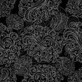 Classic lace pattern Royalty Free Stock Photography