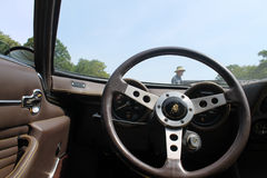 Classic lambo cockpit Royalty Free Stock Photography