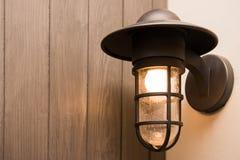 Classic lamp in bedroom Stock Photo