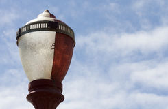 Classic Lamp. A lamp in the blue sky Stock Image
