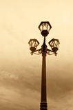 Classic lamppost Stock Photos
