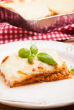 Classic lasagna bolognese Royalty Free Stock Images