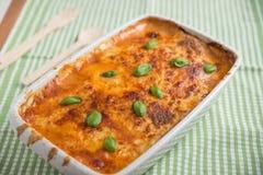 Classic Lasagna Stock Photos