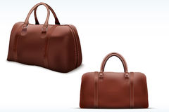 Classic Leather Bag Set Royalty Free Stock Image