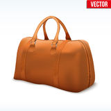Classic Leather Bag Royalty Free Stock Photo