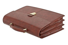 Classic leather briefcase Royalty Free Stock Photography