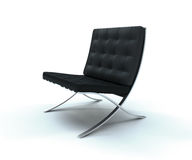 Classic Leather Chair Stock Image