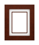 Classic Leather frame Royalty Free Stock Photos