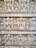 Classic leaves pattern marble genuine Royalty Free Stock Images
