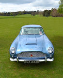 Classic Light Blue Aston Martin DB5 sports car Stock Images