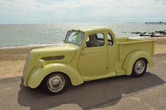 Classic Light Brown Ford pickup truck Stock Photo