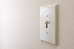 Classic light switch Stock Photos