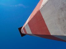 Classic lighthouse at Europoort Stock Photo