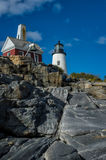 Classic Lighthouse Royalty Free Stock Photography