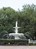 Classic Limestone Fountain royalty free stock images