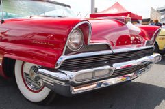 Classic 1956 Lincoln Automobile Royalty Free Stock Photography