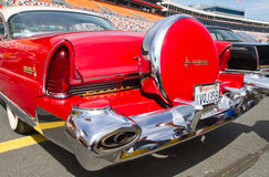 Classic 1956 Lincoln Automobile Stock Photography