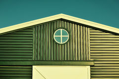 Classic lines and small window Royalty Free Stock Photos