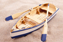 Classic little boat stock images