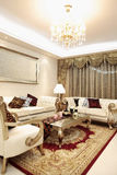 Classic Living room. Living room, the style of classical Royalty Free Stock Image