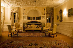 Classic living room. In a period mansion Royalty Free Stock Images