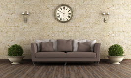 Classic living room Royalty Free Stock Image