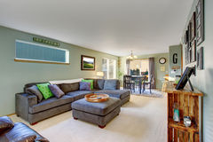 Classic living room with carpet. Stock Photography