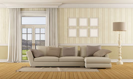Classic living room Royalty Free Stock Photography