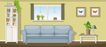 Classic living room Stock Image