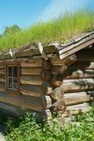 Classic Log Cabin Stock Photos