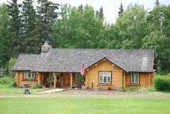Classic log house Royalty Free Stock Photo