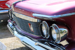 Classic luxury american car detail Royalty Free Stock Image