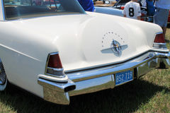 Classic luxury american car rear detail Stock Photo